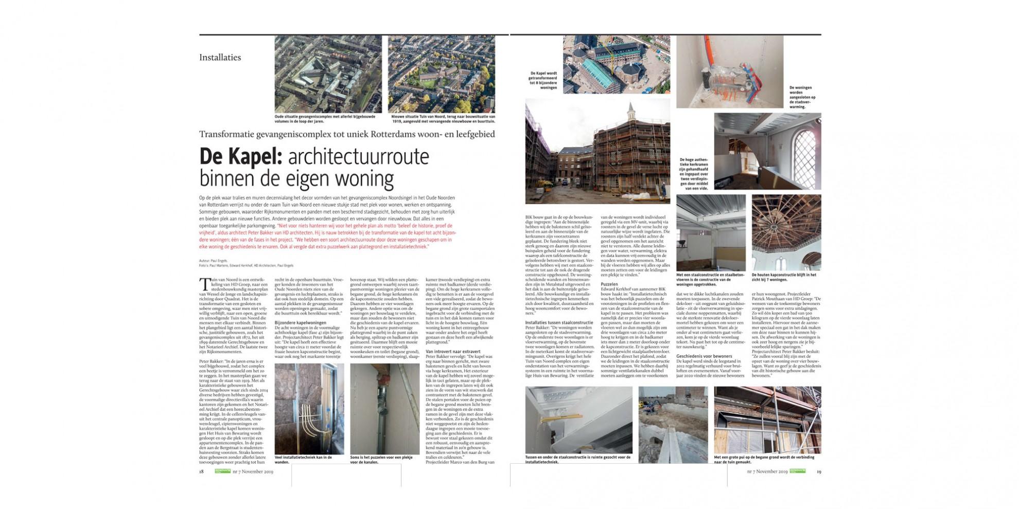 De Kapel: architectuurroute binnen de eigen woning