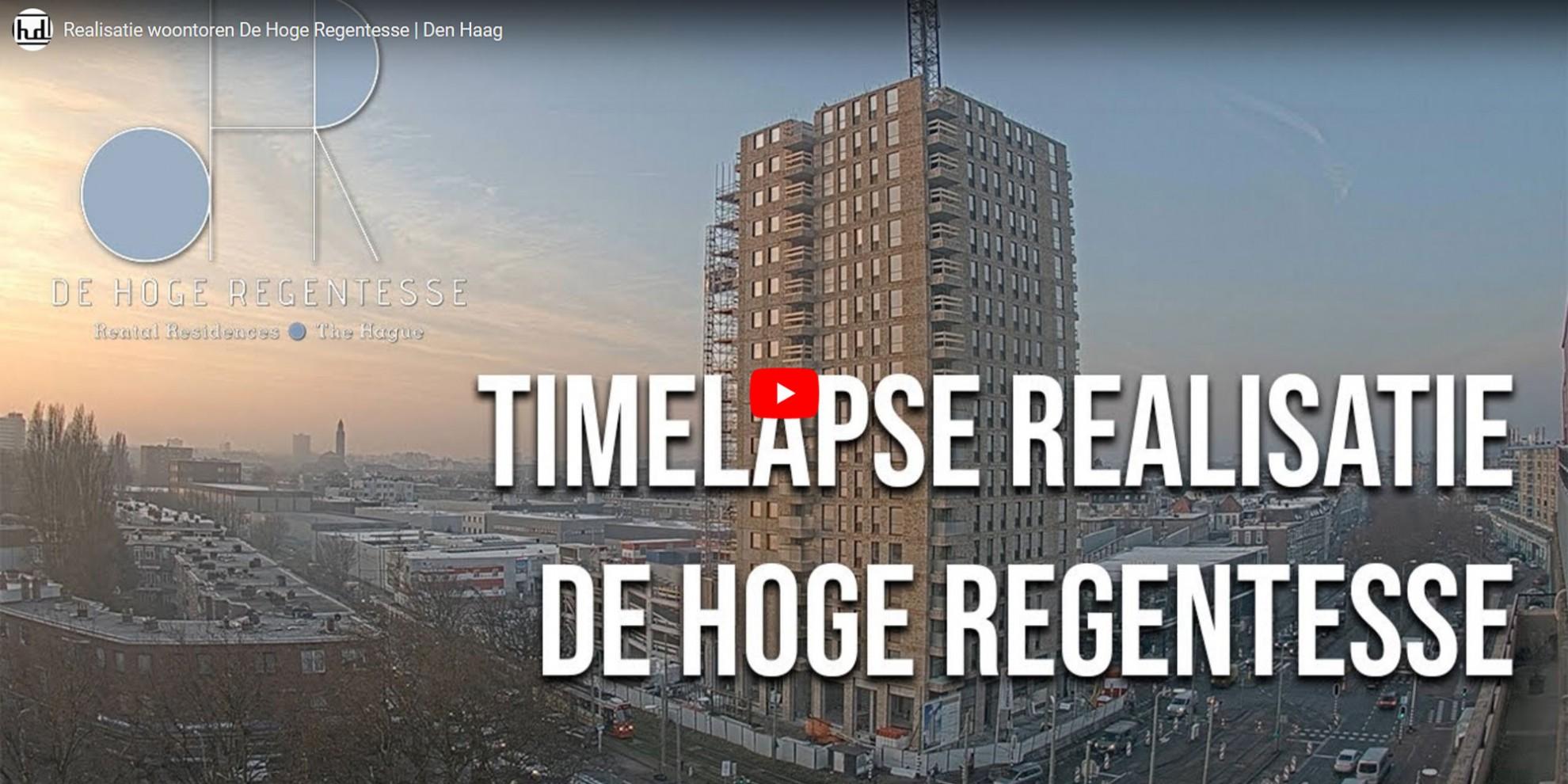 Woontoren in Den Haag bijna gereed!