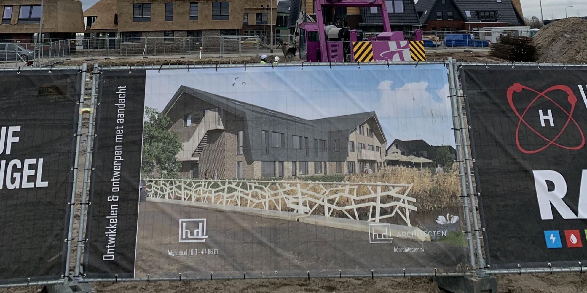De bouw van zorgvilla Blaricum is gestart!